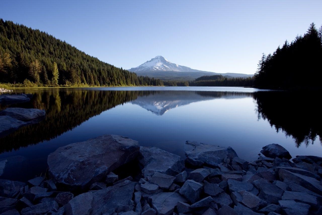 Mount Hood and Trillium Lake